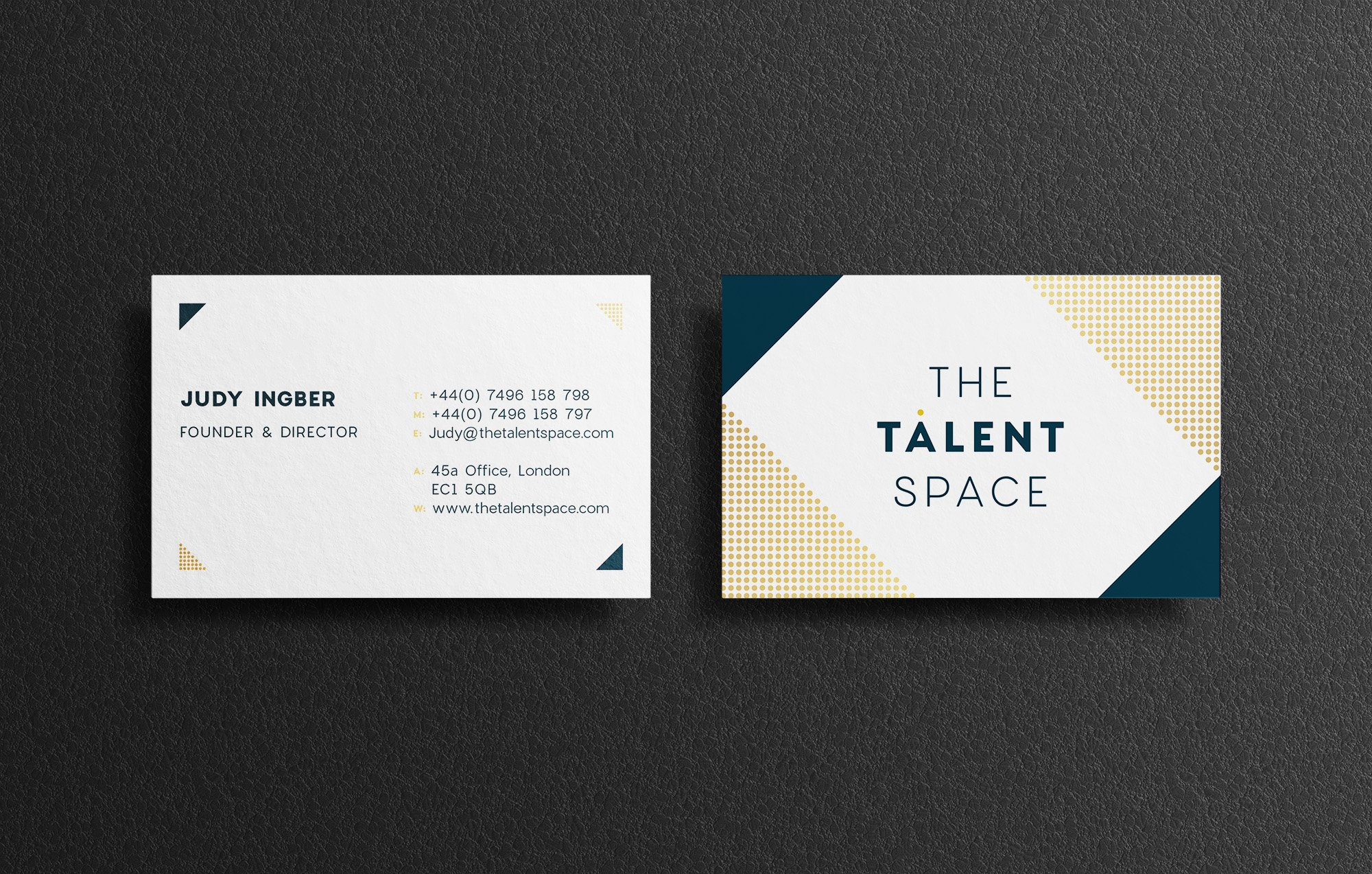 The Talent Space Business Cards
