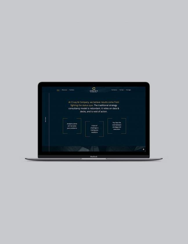 Cruxy website design | Repton Creative