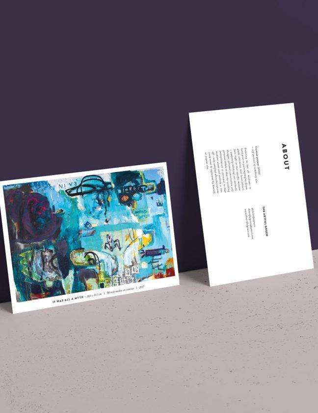 ArtfulGreen postcards