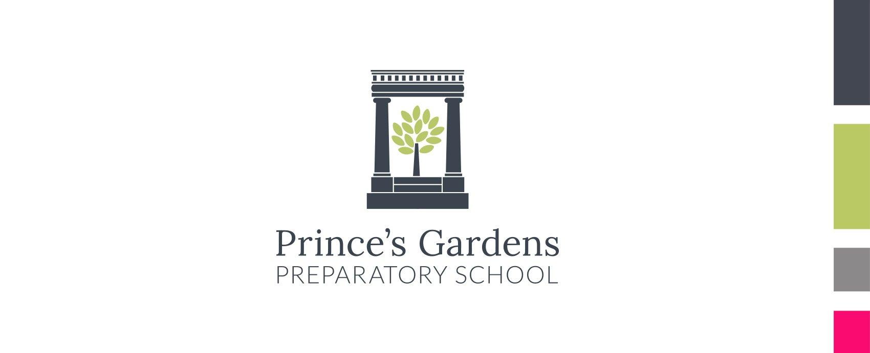 Princes Garden Prep Lockup vertical